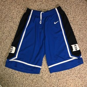 Nike vintage Duke basketball shorts